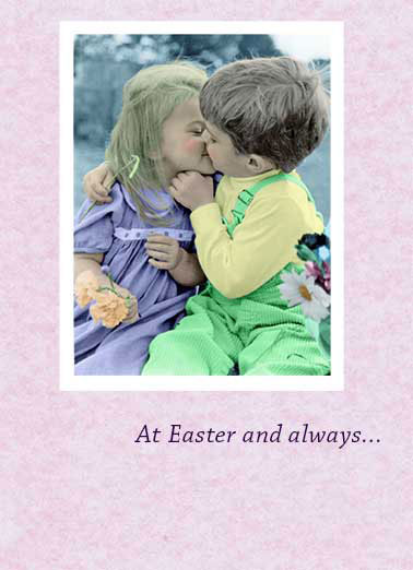 Funny Simply Cute Card  Sweet Easter Message, easter poem, easter cards, cute,