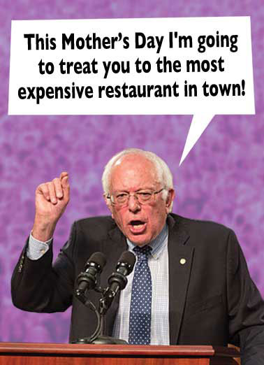 Bernie Mother's Day Funny Mother's Day    And I'm going to make Wall Street pay for it!