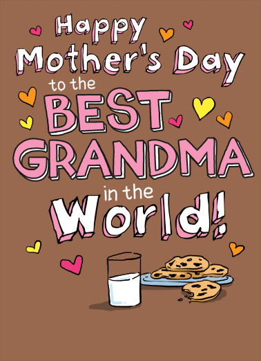 Best Grandma MD Funny Mother's Day  For Grandma   I love you, Grandma!