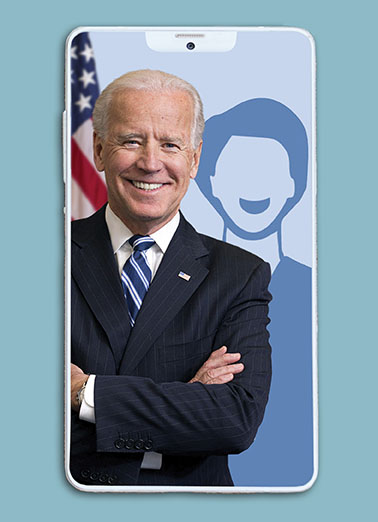 Biden Selfie Funny Birthday Card Add Your Photo Send someone a personalized greeting card just in time for their birthday! |Joe Biden 2020 selfie silly funny add your own photo politics election president campaign democrat republican liberal conservative  Hope your birthday is picture perfect!