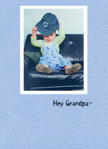 Biggest Fan Funny Father's Day Card For Grandpa