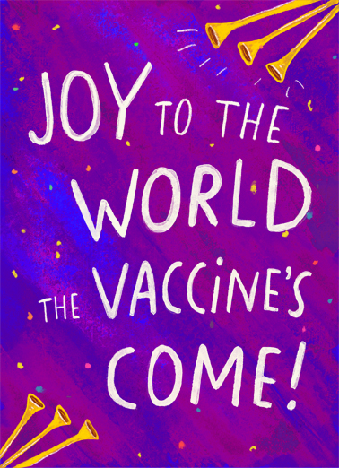 "Birthday Vaccine Joy Funny Birthday   Send a wish with this fun ""Joy to the World"" Birthday card or Ecard to put a smile on someone's face today."