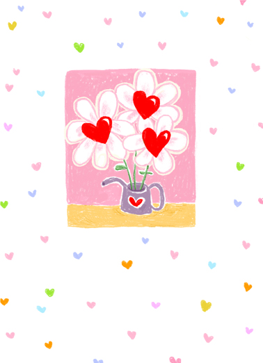 "Birthday With Love Funny One from the Heart   Send a wish with this sweet ""Watering Can Heart Flowers"" Birthday card or Ecard to put a smile on someone's face today... and we'll include Free first-class postage on all printed cards and a free printout link on all Ecards that arrive instantly. Happy Birthday with lots of Love."