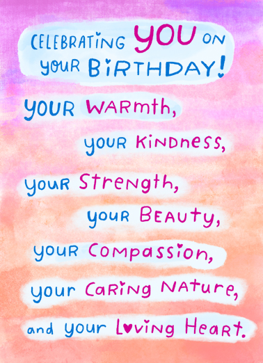 "Celebrating You Funny Birthday   Send a wish with this sweet ""Celebrating You"" Birthday card or Ecard to put a smile on someone's face today."