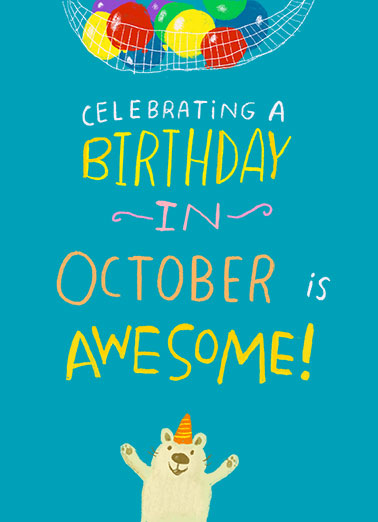 "Celebrating in September Funny Birthday   Send a wish with this fun ""Celebrating in September"" Birthday card or Ecard to put a smile on someone's face today... and we'll include Free first-class postage on all printed cards and a free printout link on all Ecards that arrive instantly.  To celebrate YOUR August Birthday is ABSOLUTELY AWESOME!"