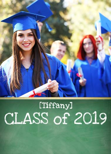 Class Act Funny Graduation   Add your photo to be Top of the Class | card, grad, congrats, graduation, class of 2017, personalized, photo, classy, smart, customized