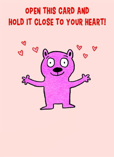 Close To Heart VAL Funny Quarantine Card Valentine's Day Send someone special a personalized greeting card just in time for Valentine's Day! | Valentine's Day hug kiss social distance hang in there love you  It's like a socially distanced hug from me to you!