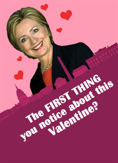 Crooked Valentine  Funny Political Card Valentine's Day This Valentine is Crooked | Hillary trump funny clinton crooked fun lol love cute senator mayor president cards smiles hysterical jokes laughs hilarious witty trending unique fresh political election best popular great huge top-rated quotes greetings gifts cards surprise   It's pretty CROOKED!