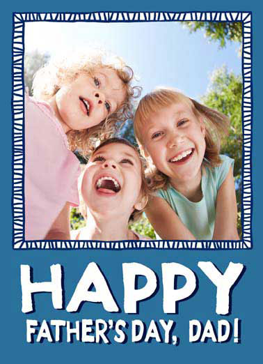 Display This Funny Father's Day Card Add Your Photo   Make sure to display this so everyone can see what amazing kids you have!