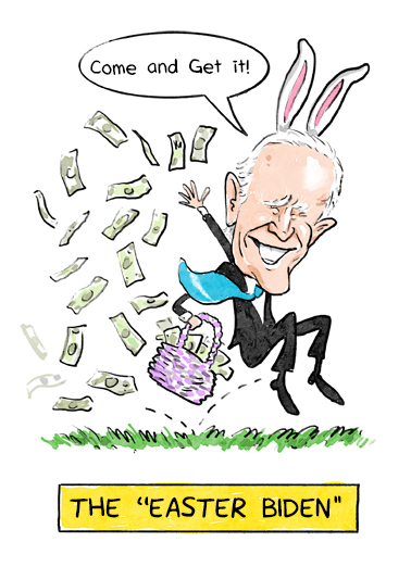 "Easter Biden Funny Easter Card  Send a wish with this funny ""Easter Biden"" Easter card or Ecard to put a smile on someone's face today."