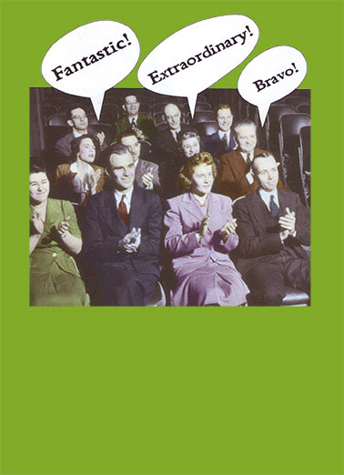 Critics Funny 5x7 greeting Card