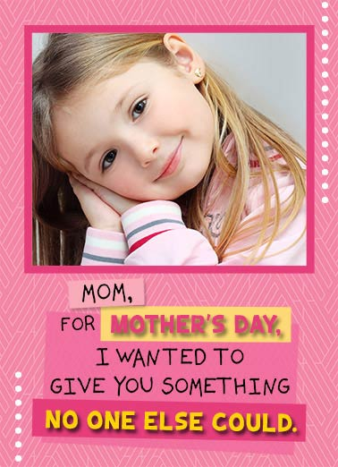 Face on Fridge Funny For Mom  Mother's Day   My face to put on your fridge! Happy Mother's Day
