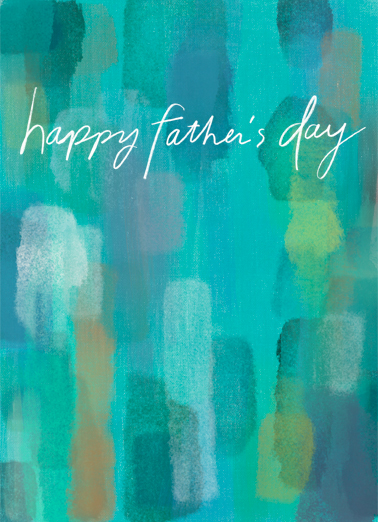 "Fathers Day Colors Funny  Card  Send a wish with this quiet and powerful ""Colorful Watercolor"" Father's Day card or Ecard to put a smile on his face today... and we'll include Free first-class postage on all printed cards and a free printout link on all Ecards that arrive instantly.  ...with Lots of Love!"