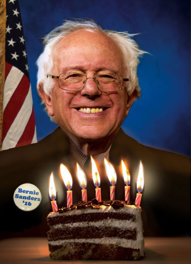 Funny Funny Political   Bernie, Sanders, Feel, Bern, Funny, Cards, Jokes, Political, Democrat, Republican, Feel the Bern, Trump, Cruz, Clinton, Hillary, Election, Campaign, Politics, Another Birthday? Time to Feel the Bern!