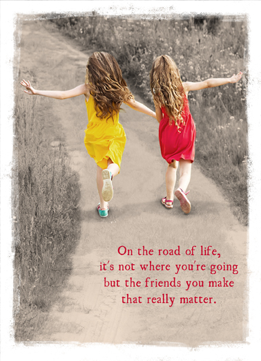 Girls Running Val Funny Valentine's Day  Sweet Send this sweet Valentine's Day Ecard to the friend in your life, and we'll include a free printout! Happy Valentine's Day to my Good Friend!