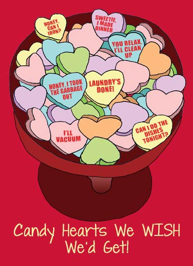 Good Candy Hearts Funny Candy Hearts  Valentine's Day Candy Hearts We'd Like to Get |  Happy Valentine's Day!