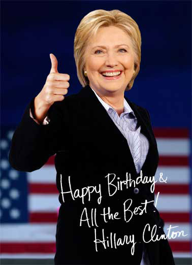 low_Hillary Autograph_cover funny birthday cards hillary clinton cardfool free postage,Hillary Birthday Meme