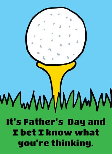 Hit That Funny Father's Day  Golf  I'd hit that!