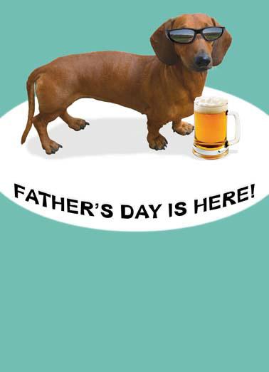 Dog Dad Fathers Day Ecard