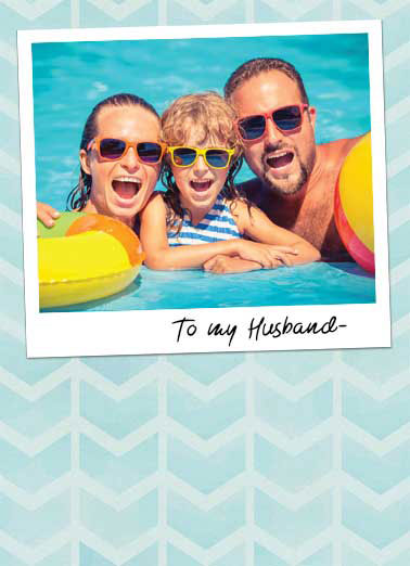 Husband Attached Photo FD Funny Father's Day Card For Husband Thanks for helping me make ridiculously cute babies. | cute sweet baby babies husband dad father Happy Father's Day card Thanks for helping me make ridiculously cute babies.
