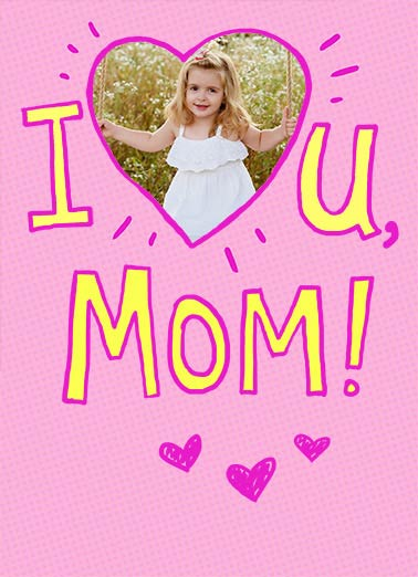 I Heart Mom Funny Mother's Day  Add Your Photo