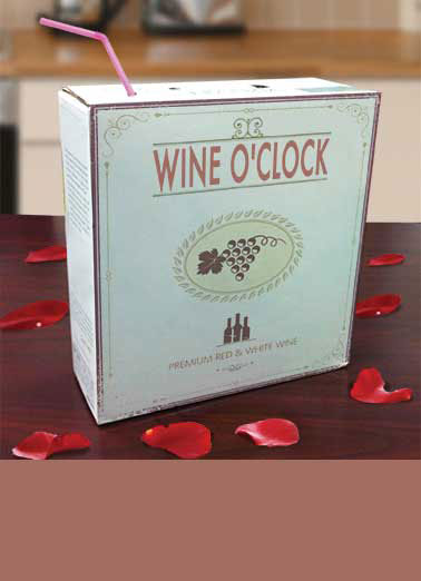 Funny For Us Gals Card  Wine, Juice Box, Mommy's Time out, Funny, Drinking, Humor, Wine Lovers, Alcohol, Cards, Funny Cards to Say Hi, Friends,  Treat yourself to a Juice Box!