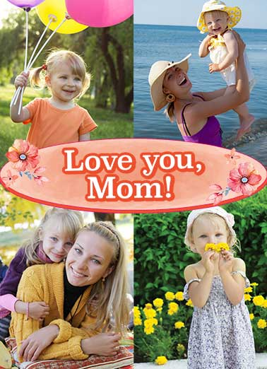 Love You Mom Funny Mother's Day  Add Your Photo  There is no mom in the world as awesome as you.