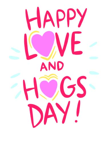 Love and Hugs (VAL) Funny Valentine's Day  Hug Happy Love and Hugs day. | happy love hugs day valentine valentine's hug illustration heart  Sending you a whole lotta both!