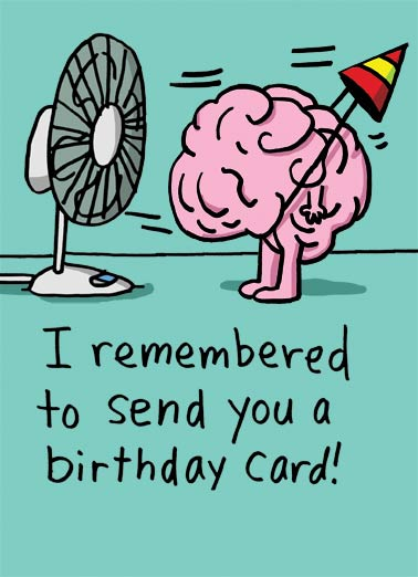 Mind Blown Funny Birthday Card Funny Blew my mind | fan, funny, cartoon, character, brain, mind, blowing, meme, birthday, funny, humor mind blown.