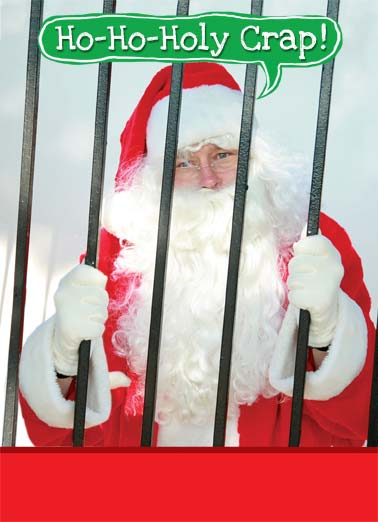 "Naughty Girls Funny Christmas   Santa in jail | Ho Holy Crap santa caught naughty girls visiting merry christmas jail   Santa finally gets caught visiting some of the ""naughty"" girls."