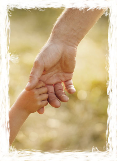 Never Let GO (FD) Funny Father's Day  From Daughter Picture of a child holding onto their father's hand. | father father's day never let go dad hand finger hold holding love  Dad, I'll never let go!