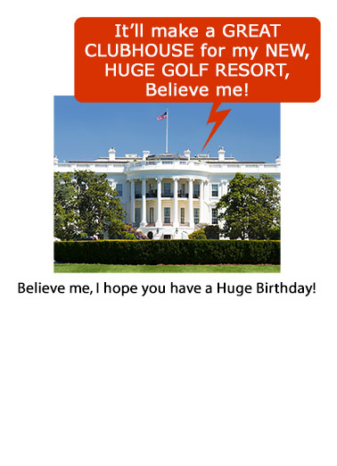 funny president donald trump cards  new, fresh, and funny, Birthday card