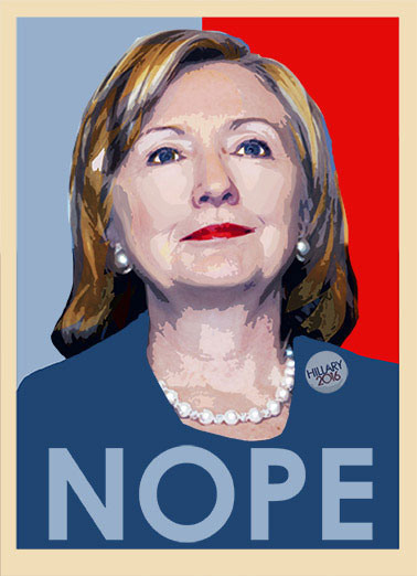Funny Photo Card  Hillary, 2016, Email, Political, Funny, Obama, Election, President, Hope,  You? Getting older? NOPE!  Happy Birthday
