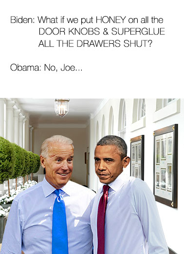 Funny Trending Card  Obama Biden Meme card - Free Postage | Obama, Biden, Meme, Prank, Funny, LOL, Political, Trump, Pence,  Hope you've got fun plans for your Birthday!