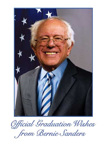 Official Bernie Congratulations Funny Megan Card   Not really, but it'd be really cool to show everyone!