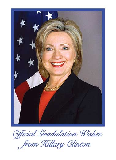 Official Hillary Congratulations Funny Megan Card   Not really, but it'd be really cool to show everyone!