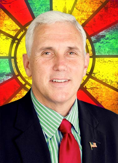 Pence on Earth Funny Christmas Card  Mike Pence says Pence on Earth at Christmas | Christmas, vice president, political, funny  Pence on earth, good luck to men. Merry Christmas