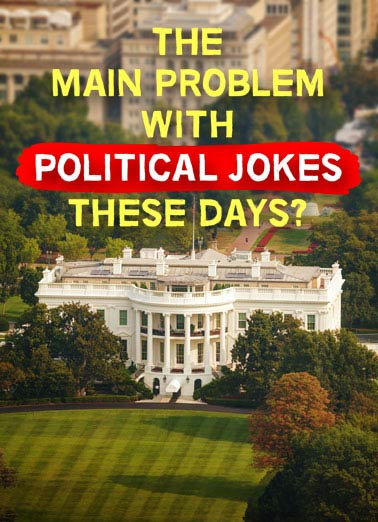 Political Jokes  Funny Political  Birthday  They get elected!