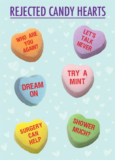 Rejected Candy Hearts Funny Valentineu0027s Day Dirty Sexy Naughty Candy Hearts  That Were Rejected For Being