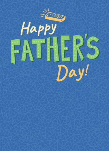 Remotely As Wonderful Funny Father's Day Card  Happy Father's Day! | happy father's day father dad remote tv television love wonderful you sweet blue design  There is no Dad even remotely as wonderful as you!
