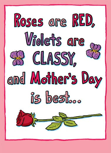 Mothers day ecards edgy mothers day ecards cardfool free roses are red funny mothers day edgy roses are red violets are blue m4hsunfo