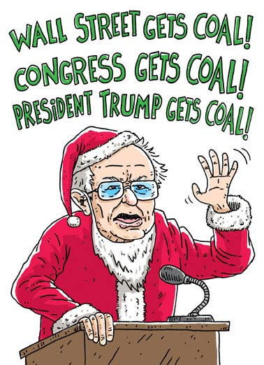 Sanders Claus Funny Christmas  Bernie Sanders  You better watch out, Sanders Claus is coming to town!