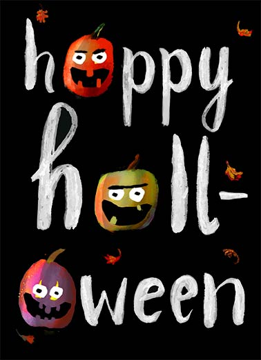 Scary Fun Funny Halloween   Fun Pumpkins | watercolor, lettering, artsy, arthouse, ink, wash, scratchy, texture, whitewash, halloween, freaky, funny, pumpkins, faces, jackolanterns, colorful, autumn, fall, decor, scary, fun, black, white, orange, painting hope yours is scary fun!