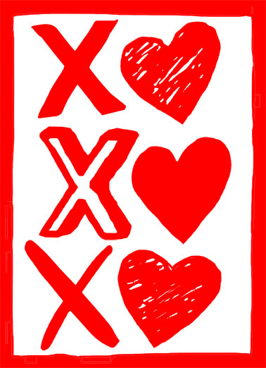 Sending You Hugs and Kisses Funny Valentine's Day  Hug   Sending you Valentine's Day hugs and kisses!