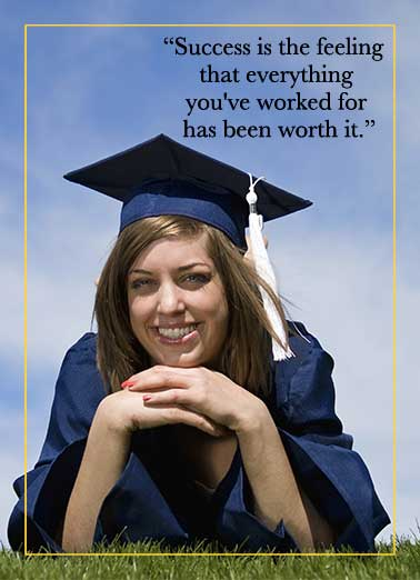 Success Photo Upload Funny Graduation Card Add Your Photo
