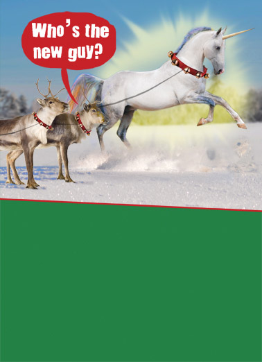 Funny Christmas Card  ,