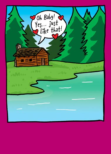 Thoreaully (Love) Funny Love  For Any Time Walden Pond thoreau love greeting card | I thoreaully love you!