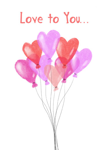 Today And Always Funny One from the Heart Card Birthday Let someone know you're thinking of them by sending a personalized greeting card just in time for their birthday! | Today and always love to you heart balloons appreciate loved friends celebrate  Today and Always. Happy Birthday
