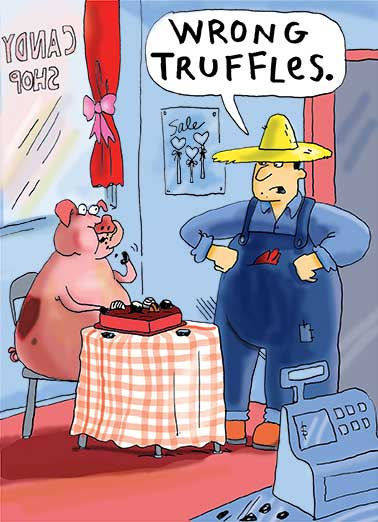 Truffles Funny Valentine's Day  Cartoons  PIG OUT... It's Valentine's Day