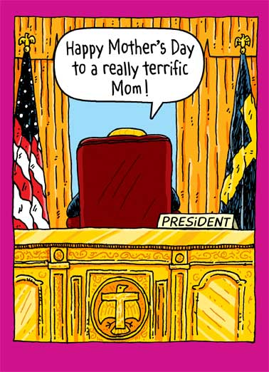 Oval Office Mother's Day Funny Mother's Day  Funny Political Trump calls everyone a sad loser Everyone else? Total losers. Sad!